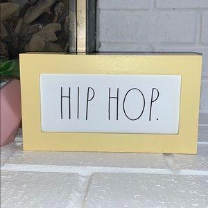Rae Dunn HIP HOP Easter Wood Sign